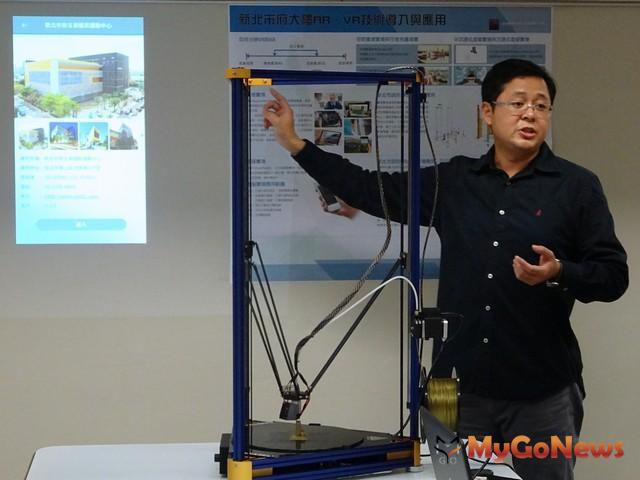 營建高端新技術,實現雲端數位化,新北展示BIM成果(圖:新北市政府)