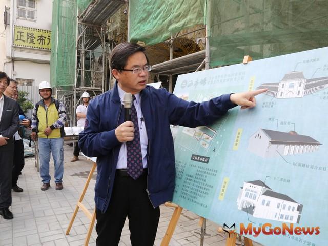 李孟諺:對西門商圈整體環境提升高度重視(圖:台南市政府)