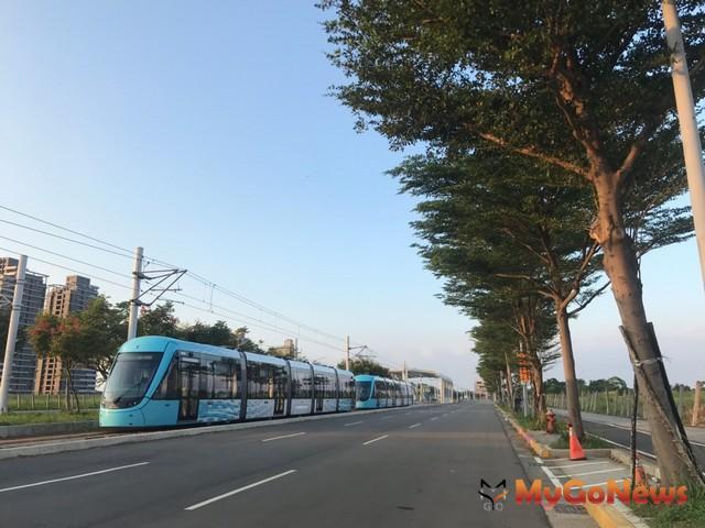 淡海輕軌 轉乘便利,通用設計共同遵循(圖:新北市政府)