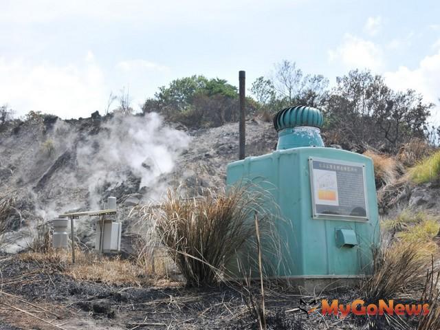 經濟部中央地質調查所表示,政府與科學家共同把關,觀測大屯火山活動(圖:經濟部中央地質調查所)