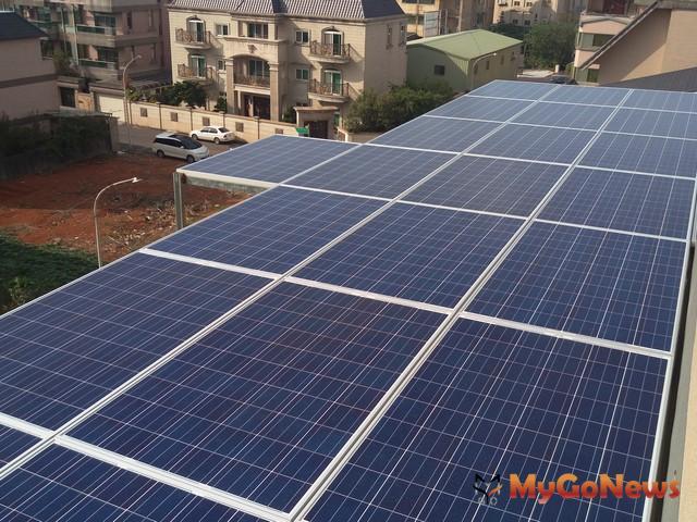 請注意!屋頂裝設太陽光電,高市府補助開跑
