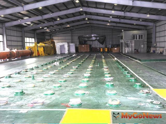 桃園龍潭的核能研究所內貯存場核廢料(圖:桃園縣政府)