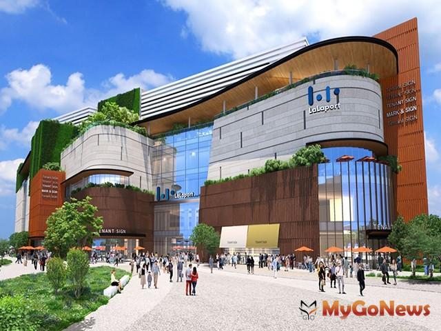 台灣三井不動產持續擴大中台灣投資,Mitsui Shopping Park LaLaport台中(暫)定案(圖:業者提供)