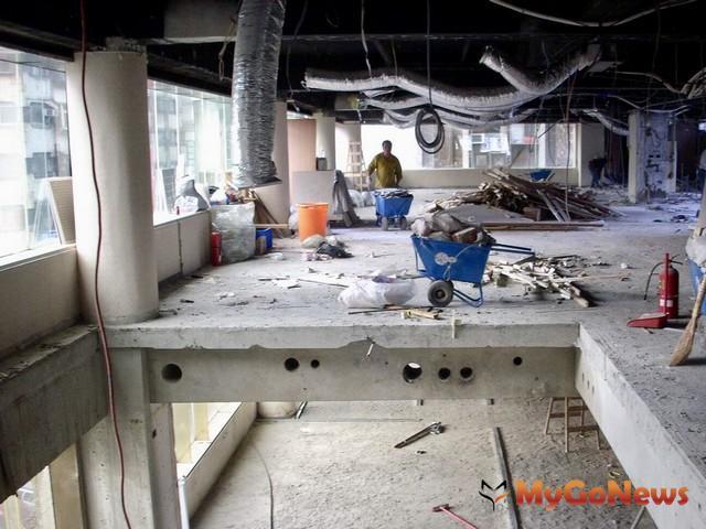 未經許可擅自室內裝修恐受罰,公寓大廈可納入規約強化管理(圖:台北市政府)