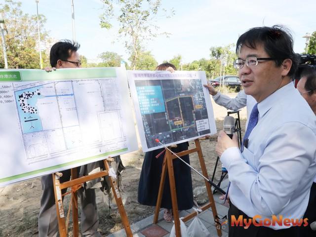 延伸巴克禮公園綠化軸帶,打造南台南副都心林間步道(圖:台南市政府)