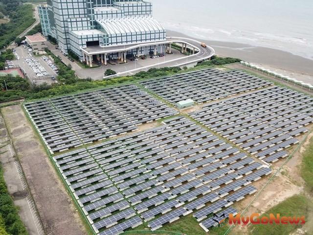 新竹市府力推學校公有地太陽能發電,「綠電變黃金」租金收入逾500萬(圖:新竹市政府)