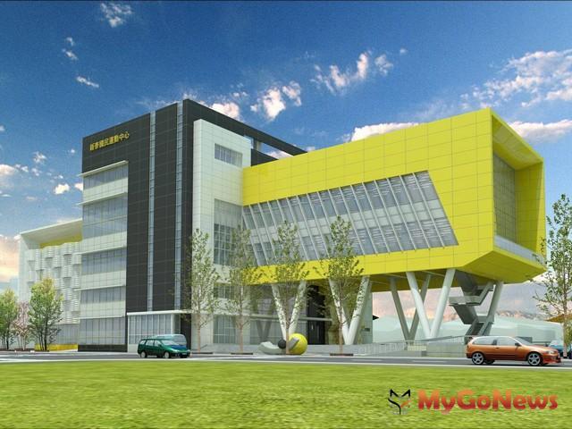 新泰國民運動中心位於泰山區全興路及仁愛路口,由新北市政府出資興建(圖:新北市政府)
