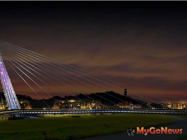 新北市汐止區新長安橋完工通車,舊長安橋功成身退,汐止防洪有保障
