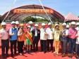 區域建設 竹北國民運動中心工程上樑儀式