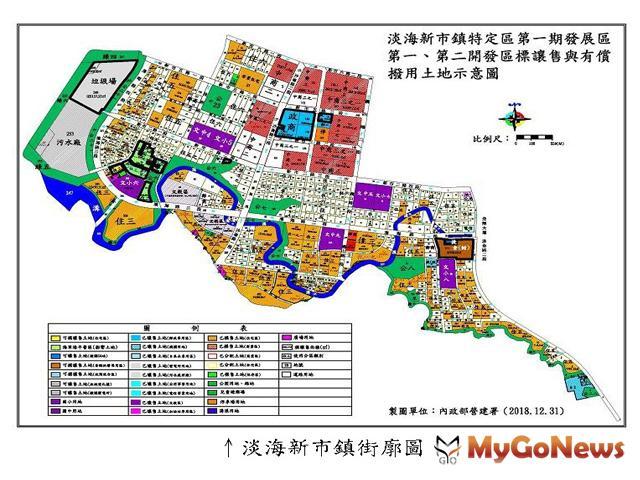 營建署:淡海新市鎮將朝向交由新北市政府接續開發