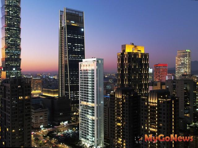 完銷近在咫尺,5大頂級豪宅快沒貨了,圖為信義計畫區「琢白」案