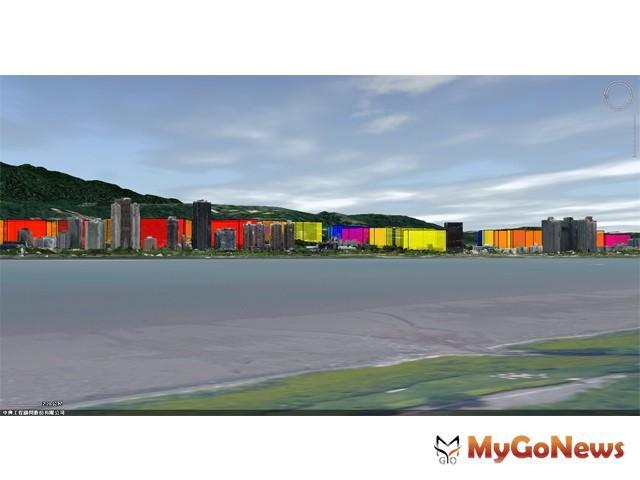 區域利多 淡水(竹圍)建築天際線「變成這樣」(圖:新北市政府)