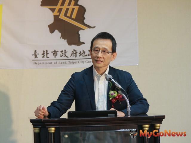 台北市地政局長李得全表示,台北市府三面向切入房市政策,執行累積豐碩成果