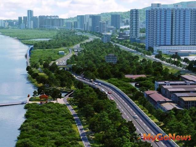 台北市府:淡北道路工程之經費分攤說明