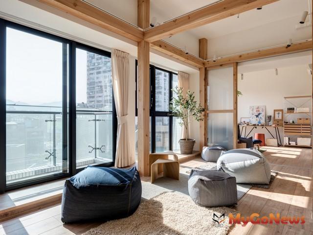 全新完工的「長群享享CITY」,以「不一樣的空間、不被定義的你」為訴求,在捷運板南線設計最美的工作室,圖為現場實景 MyGoNews房地產新聞 專題報導
