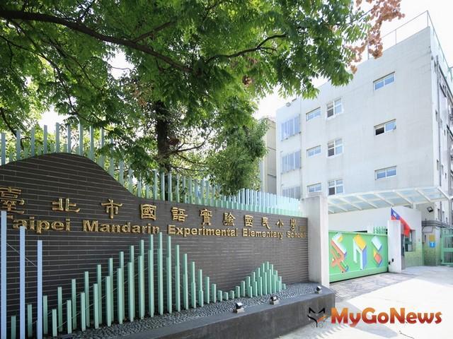 「品陽大苑」主訴求就是國語實小與南門國中學區及台北唯一藝文軸帶