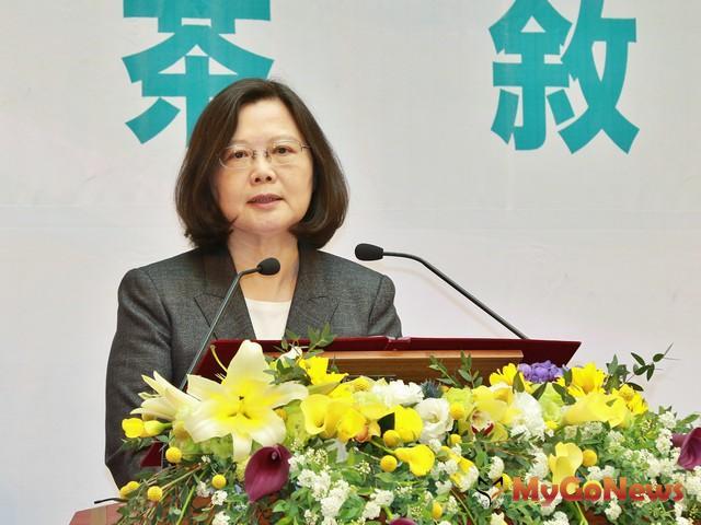 總統府中部辦公室成立 蔡總統盼強化中台灣角色(圖:台中市政府)