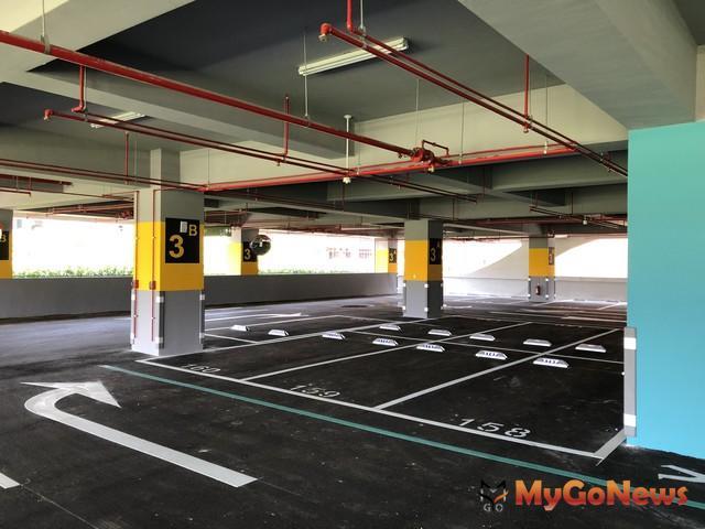 共享經濟 台北市領先全國,車位媒合業者申請停車場登記證更方便了(示意圖)