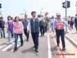 林佳龍:水湳中水道工程計畫道路通車