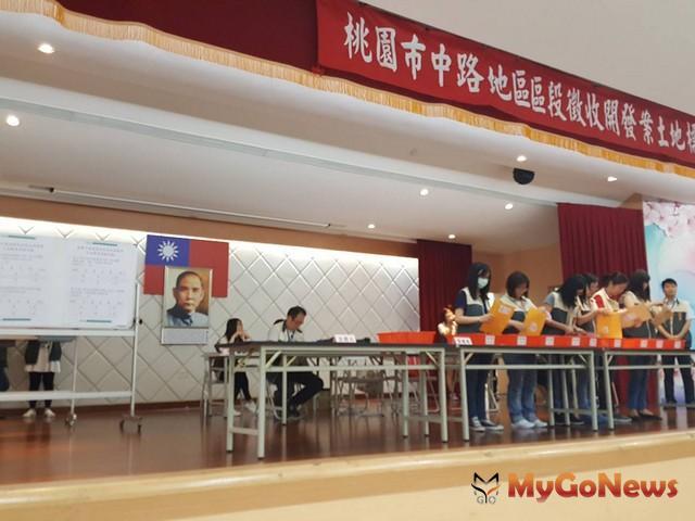第七次中路標售土地單價77.5萬元,創下歷年次高(圖:台灣房屋) MyGoNews房地產新聞 市場快訊
