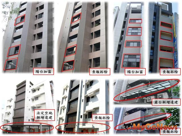 台北市政府串聯建管與地政能量遏止新違建,維護都市公共安全及景觀(圖:台北市政府)