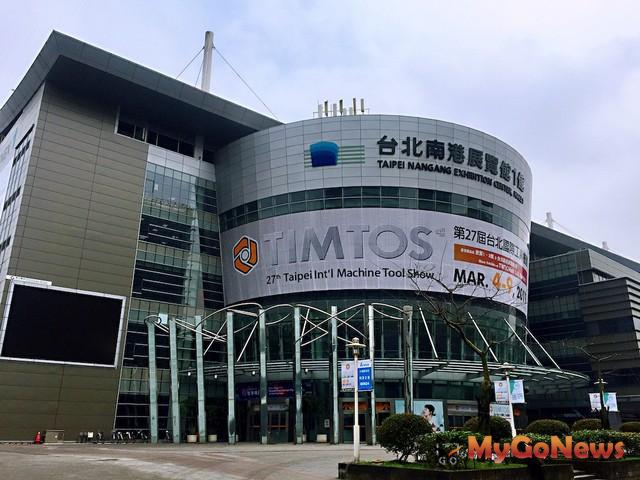南港匯聚「軟體、會展、交通、新創、生技」5大中心產業發展(圖為南港展覽館)