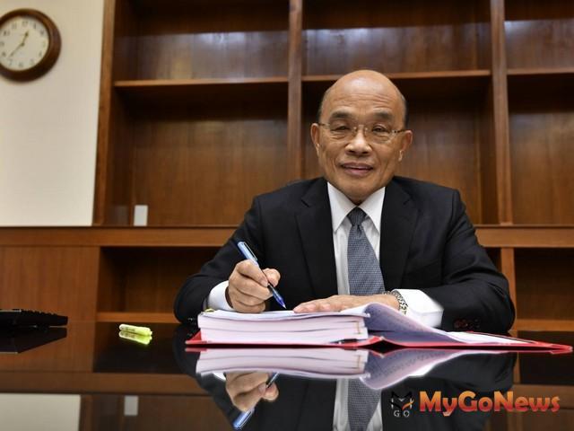 蘇貞昌:投資台灣三大方案 企業放心打拚 民眾安居樂業