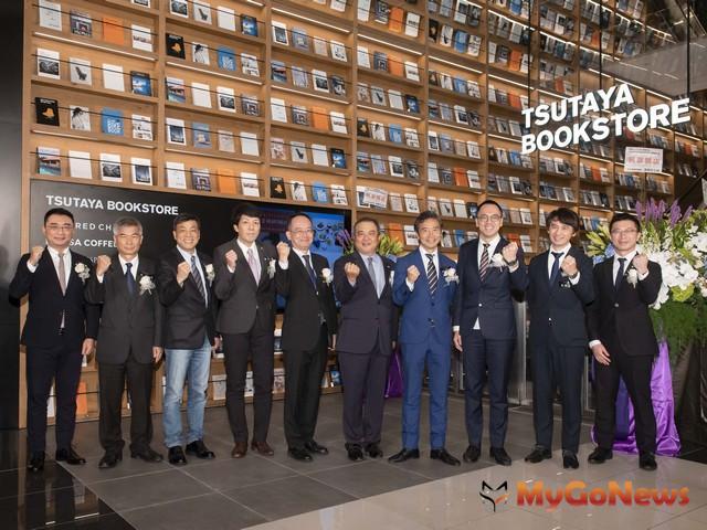 全台最大 TSUTAYA BOOKSTORE南港店12/6正式開幕(圖:潤泰集團)