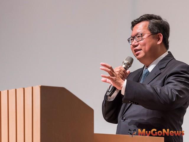 牛奶地產桃園青埔商場新建工程動土,鄭文燦:帶動青埔整體地區發展