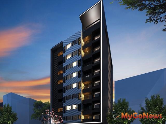 板橋青年住宅模擬示意圖(圖:新北市政府)