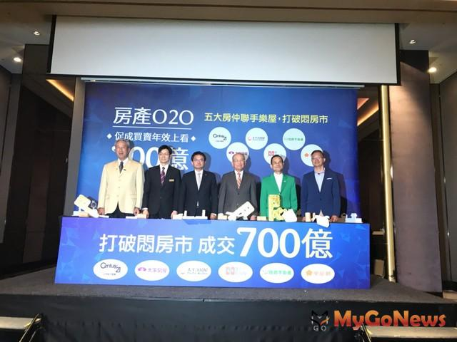 房產O2O,五大房仲聯手樂屋打造700億成交大平台,線上線下攜手,打破悶房市