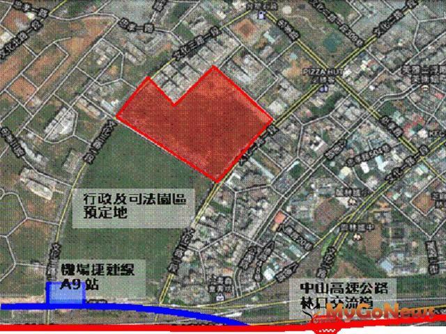 中商36初步規劃出爐,將興建地上三層購物中心及一棟停車塔。(圖:新北市經發局)