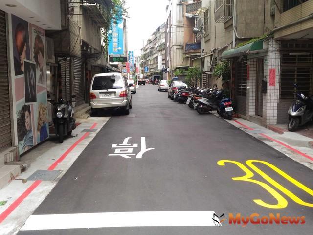士林區福港街160巷,已完成排水改善工程(圖:台北市政府)