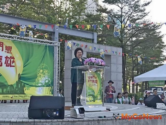 陳菊:持續打造國際生態安全城市(圖:高雄市政府)