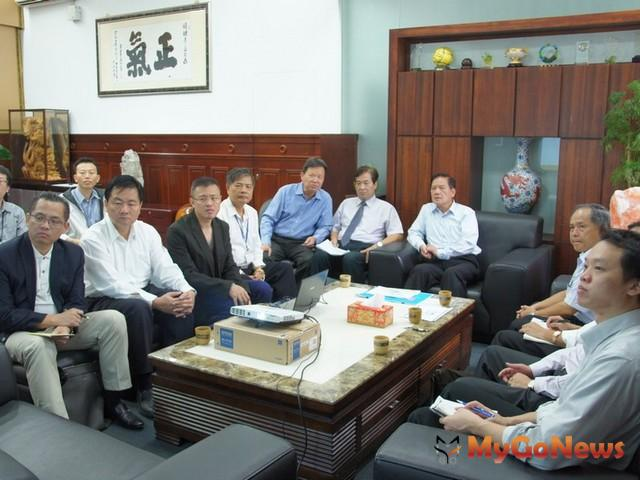許明財市長聽取「新竹科技商務園區整體規劃」期初報告(圖:新竹市政府)