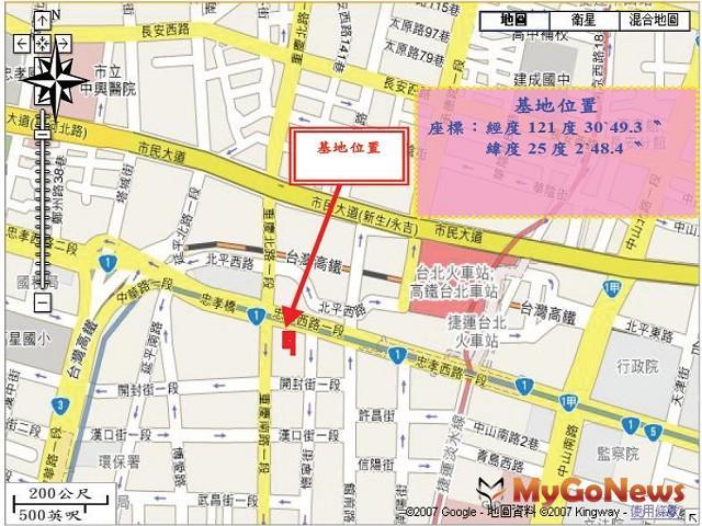 基泰忠孝西路開發案基地(圖:台北市環保局)