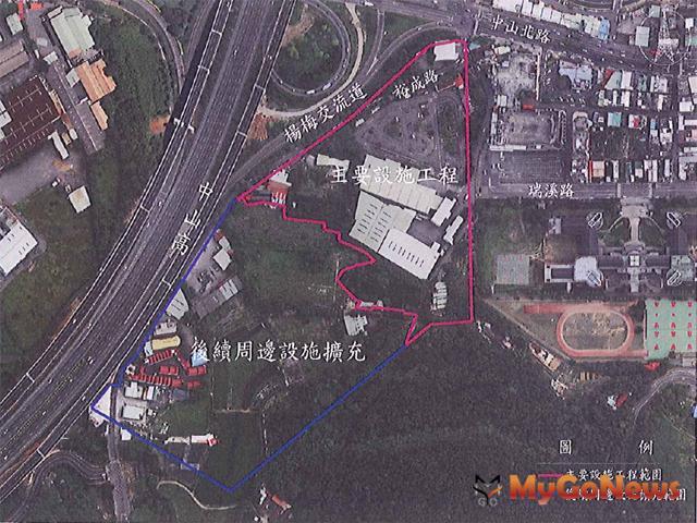 楊梅體育園區新建工程3月14日上網公告