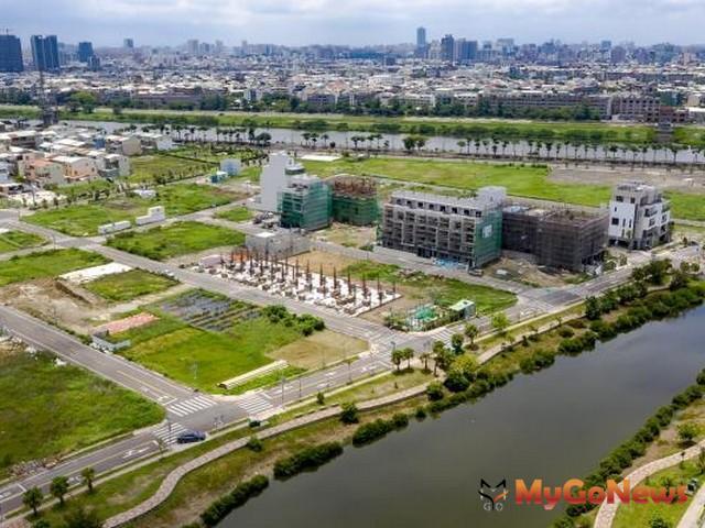 九份子重劃區12筆土地售出,建設安南新市鎮生態社區(圖:台南市政府)