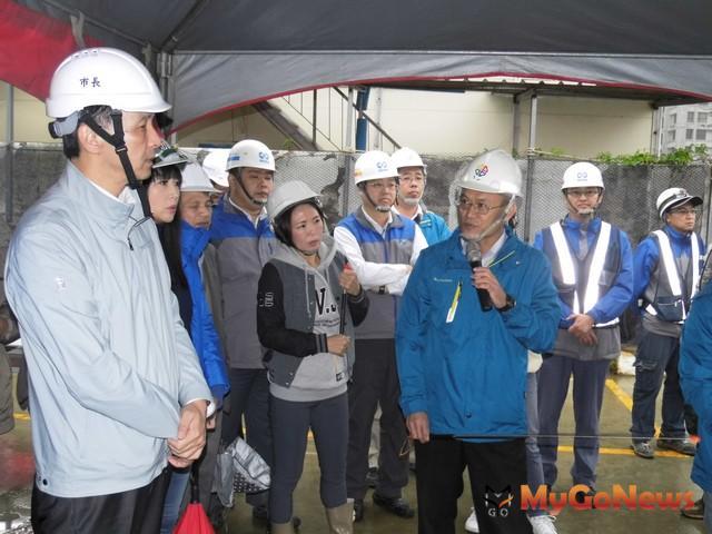 重視新興地區發展需求 朱立倫視察林口公共建設(圖:新北市政府)