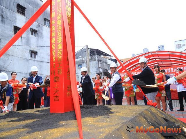 柳川二期林整治開工,振興舊城區