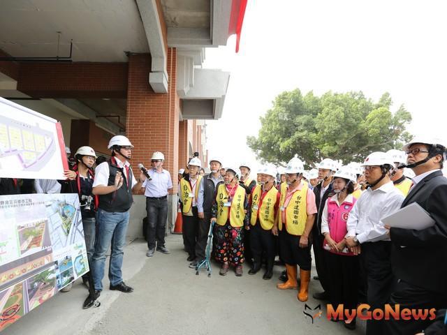 台中市新建國市場預計2015年底完工,將會帶動東區發展(圖:台中市政府) MyGoNews房地產新聞 專題報導