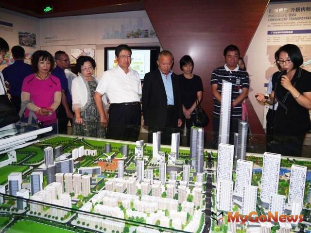 楊文科 參訪東莞市規劃展覽館 考察城市規劃建設(圖:新竹縣政府)