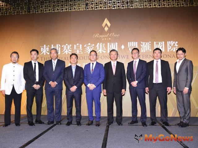 柬埔寨首富皇家集團來台參訪拜會合作團隊,並首度對外公開金邊第一高樓設計圖