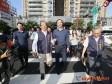 朱立倫體驗台中BRT 盛讚BRT是非常進步的作法