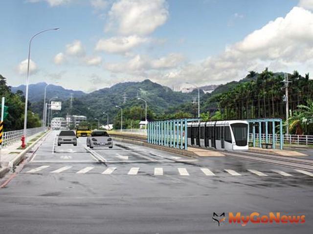 安坑一號道路工程,已經預留了來興建捷運安坑線的路權,捷運安坑線預計可於2014年動工。(圖片提供:新北市政府)