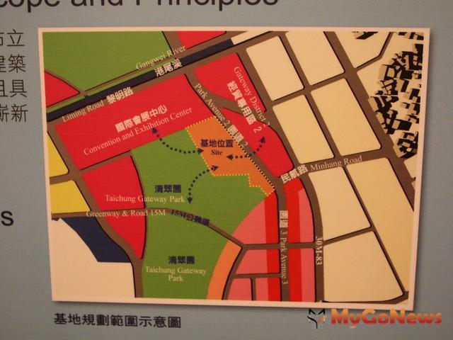 「台中城市文化館」基地位於大宅門特區(水湳經貿園區)內(圖:台中市政府)