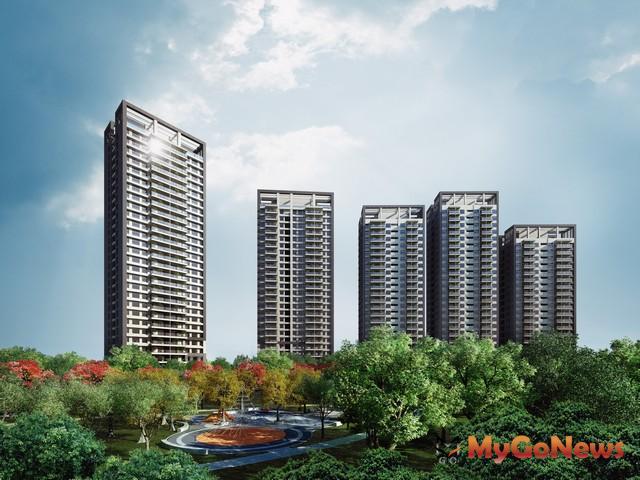 「富邦大無疆」綠能城,森林建築新概念