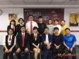 中國鏈家研究院團隊參訪東森房屋,取經加盟經驗