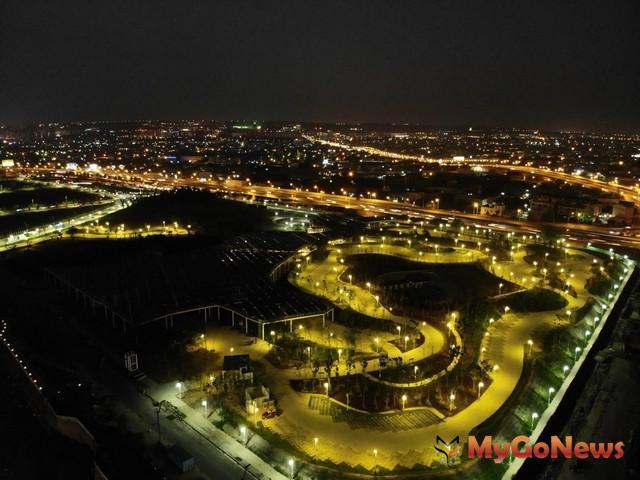 智慧城中央公園北端公138區5月底完工