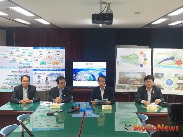 社子島生態景觀及智慧建設總體規劃公開招標同步啟動(圖:台北市政府)
